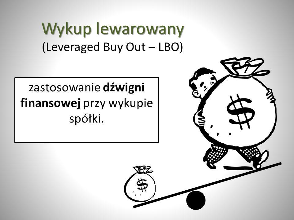 Wykup lewarowany (Leveraged Buy Out – LBO)
