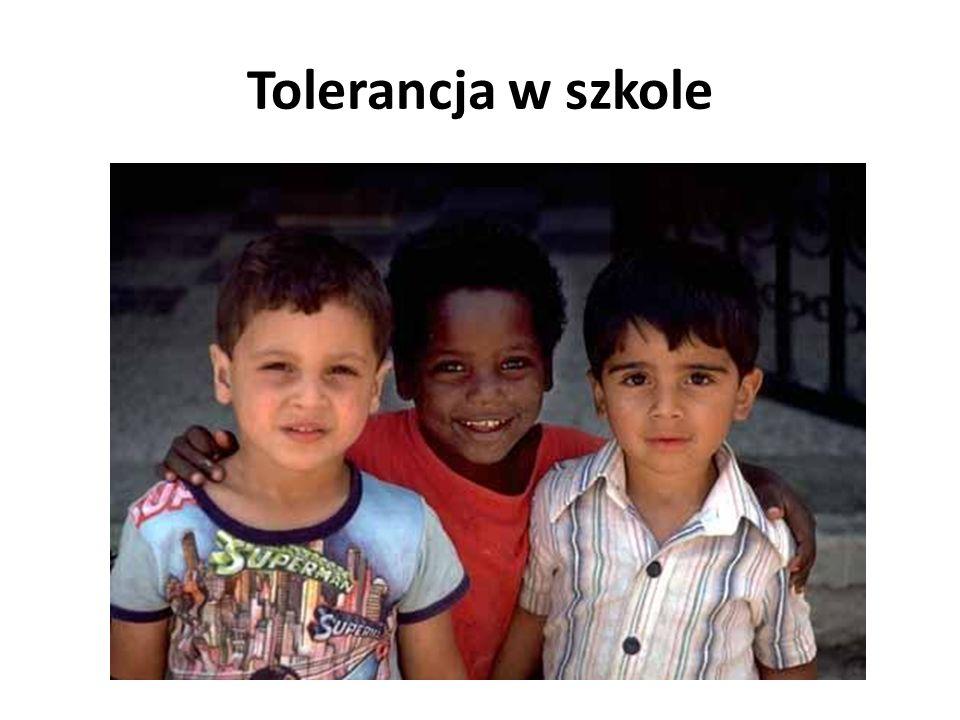 Tolerancja w szkole