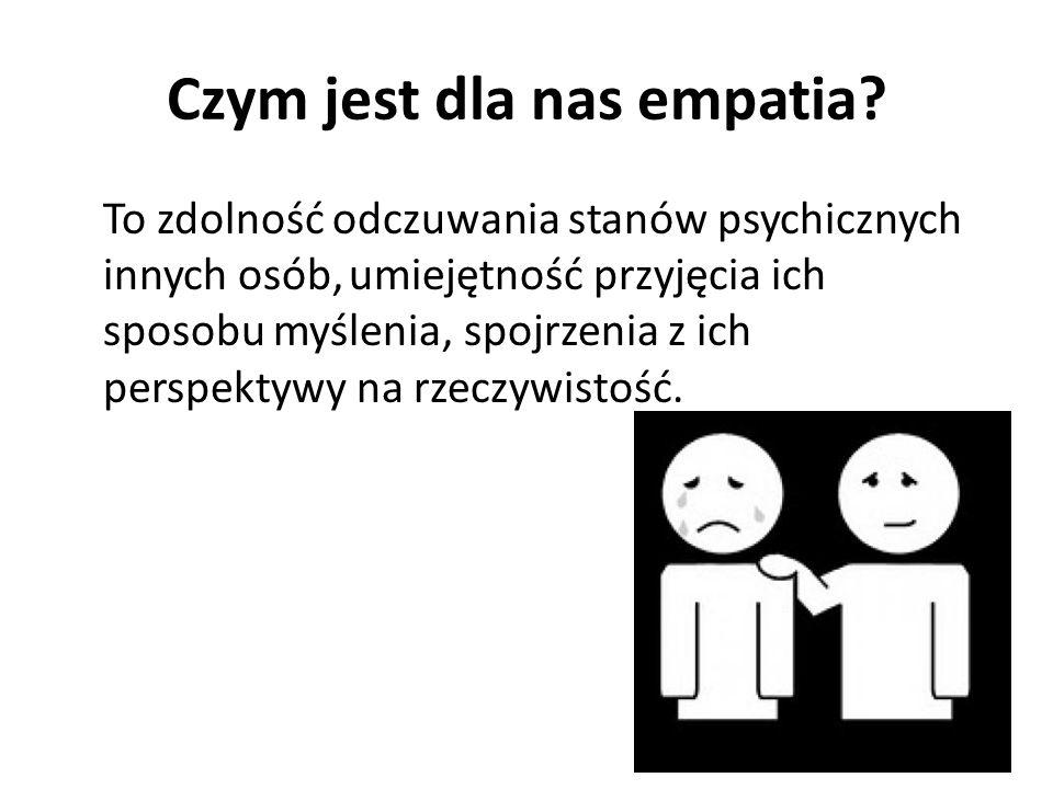 Czym jest dla nas empatia
