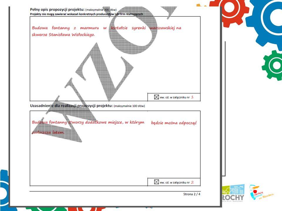 2 strona formularza