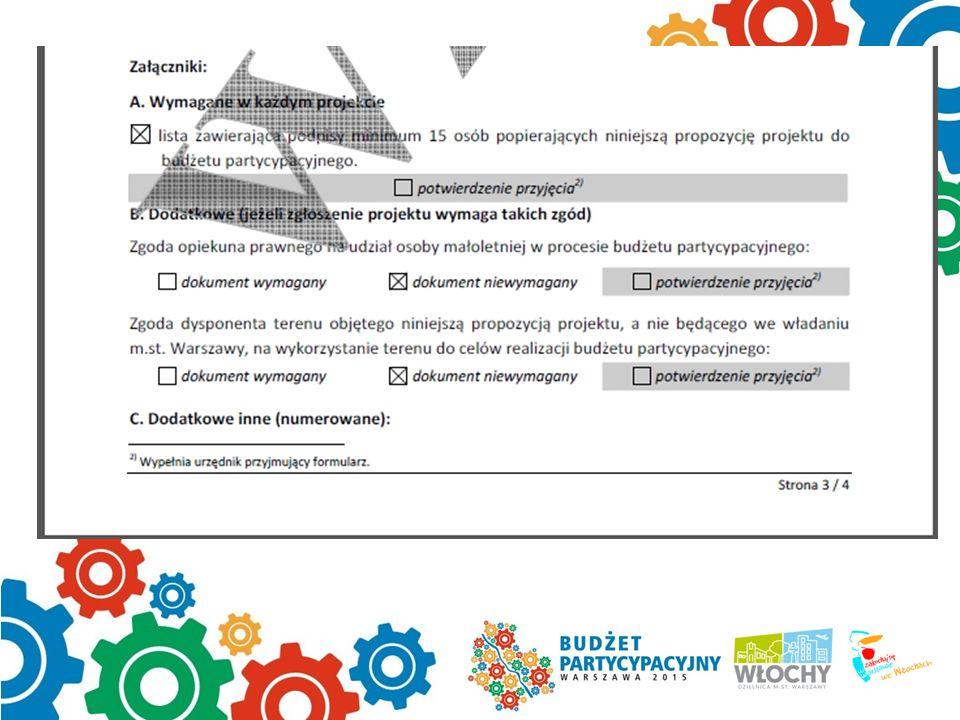 3 strona formularza