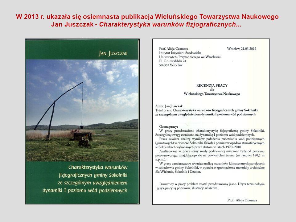 Jan Juszczak - Charakterystyka warunków fizjograficznych...