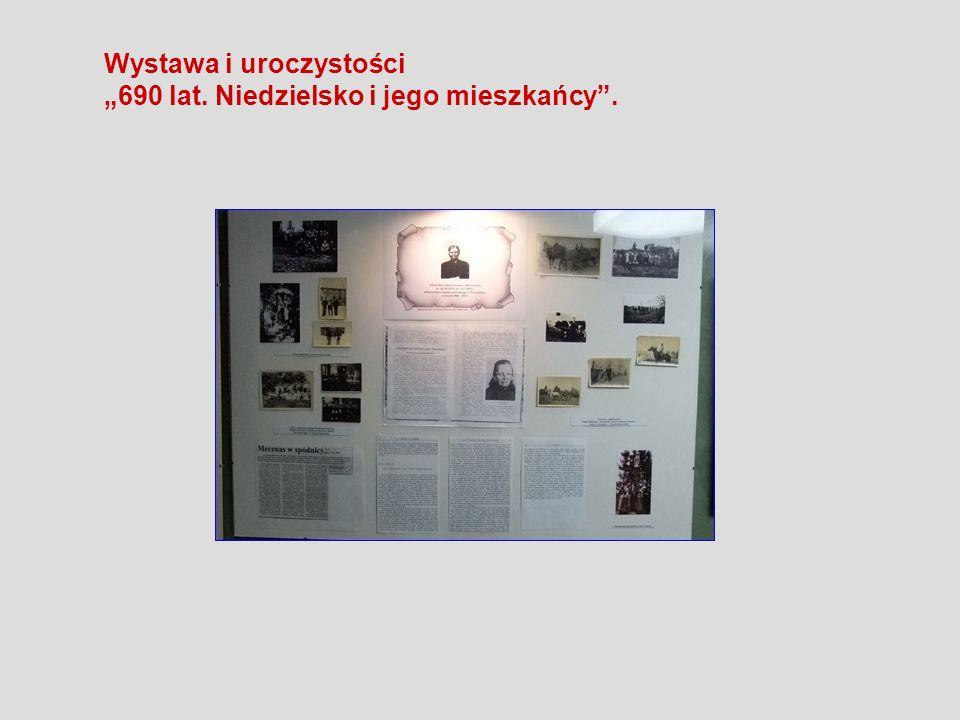 Wystawa i uroczystości