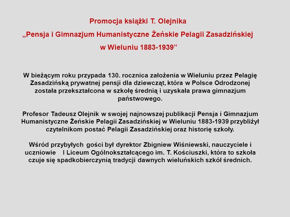 Promocja książki T. Olejnika