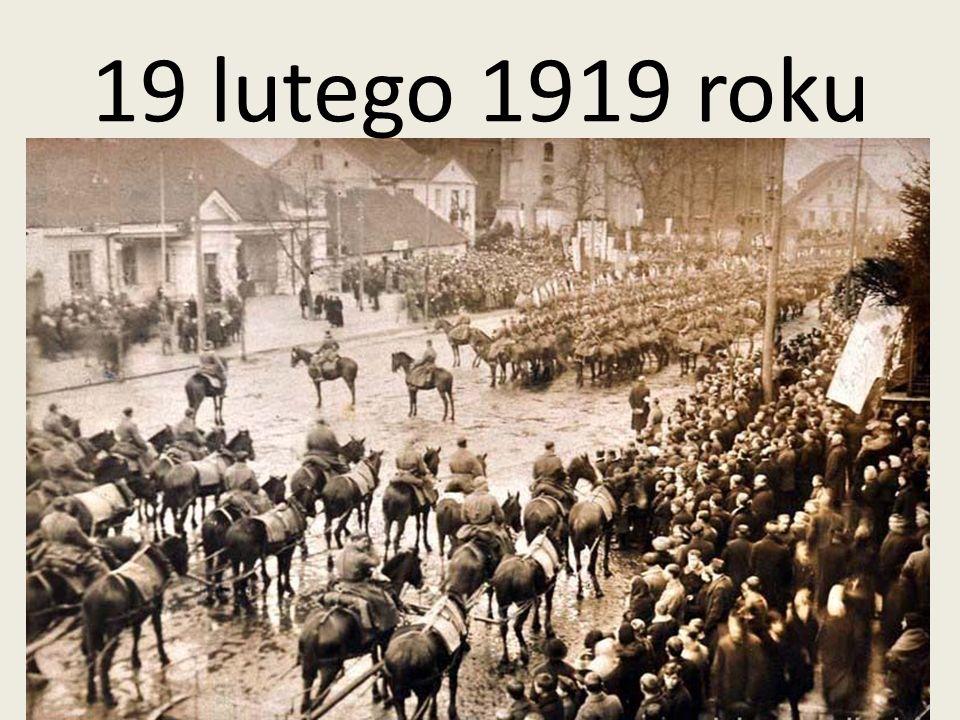 19 lutego 1919 roku