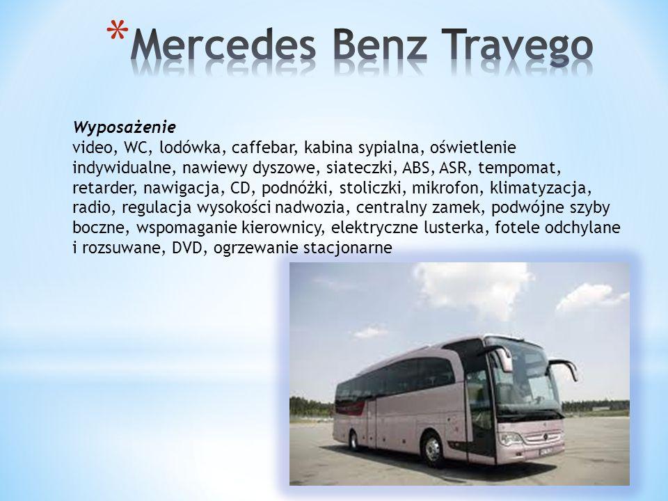 Mercedes Benz Travego Wyposażenie