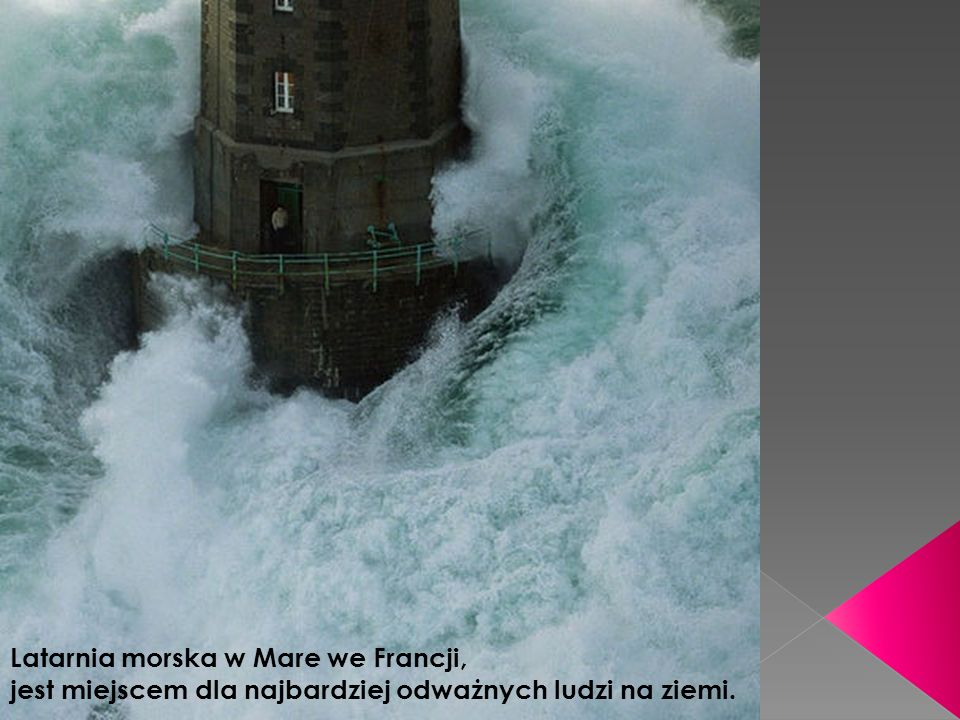 Latarnia morska w Mare we Francji,