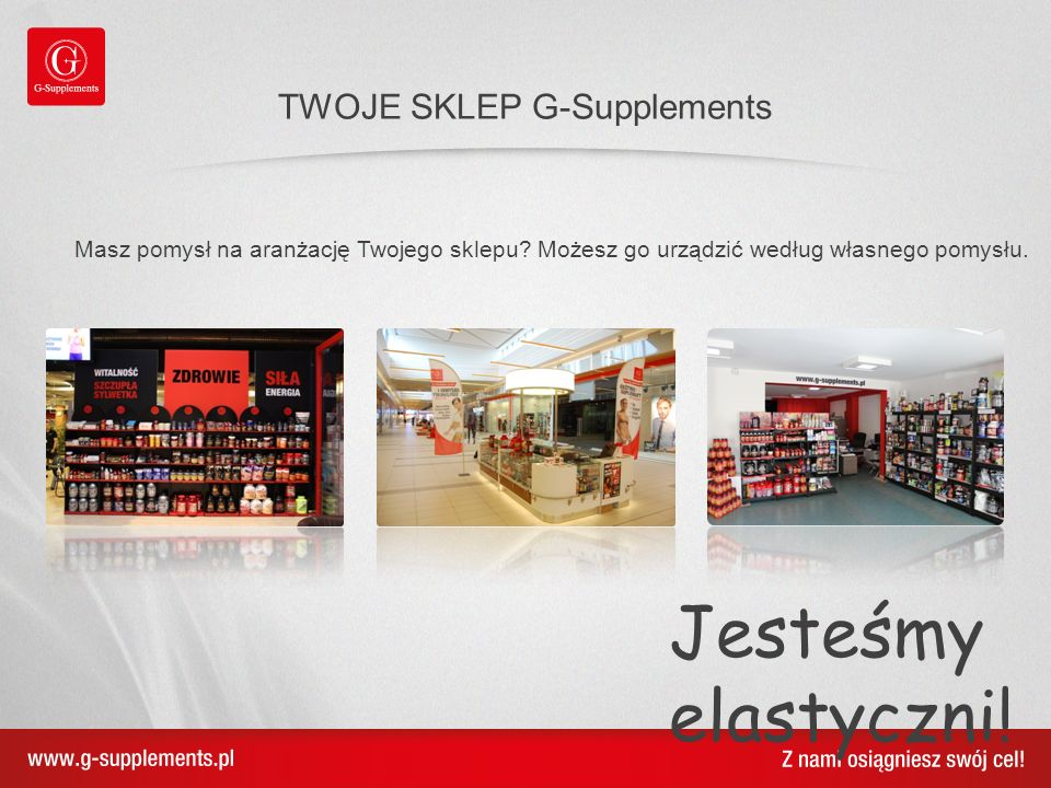 TWOJE SKLEP G-Supplements