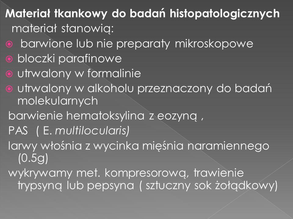 Materiał tkankowy do badań histopatologicznych