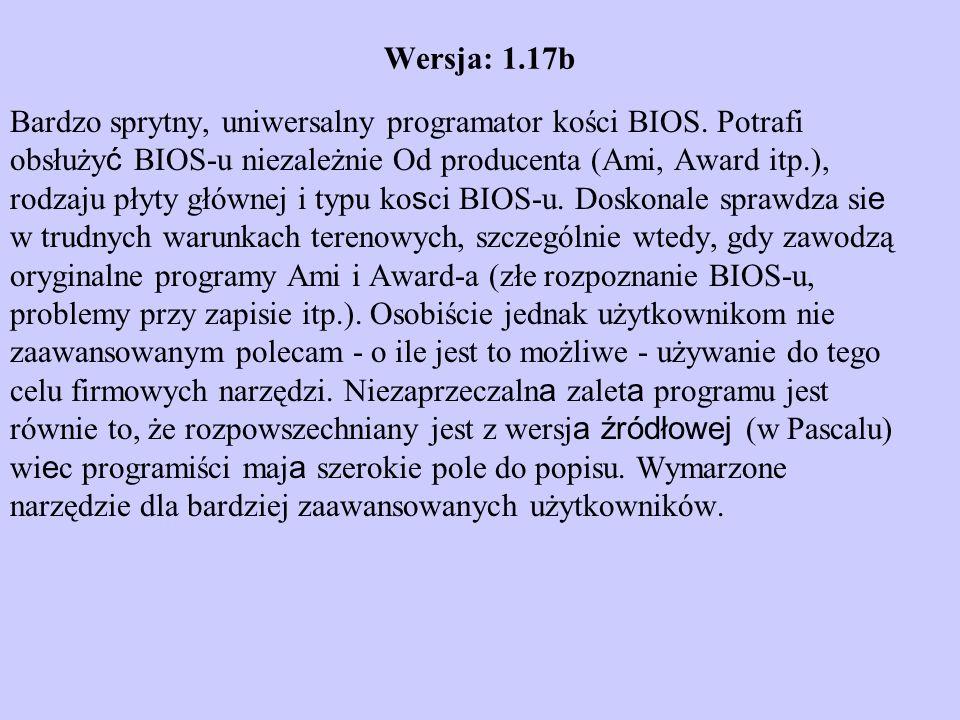 Wersja: 1.17b