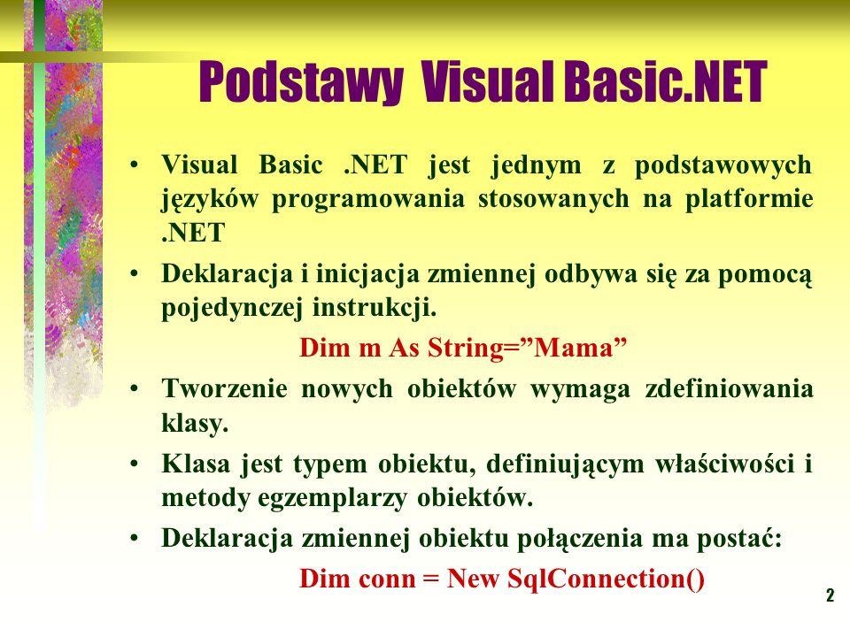 Podstawy Visual Basic.NET