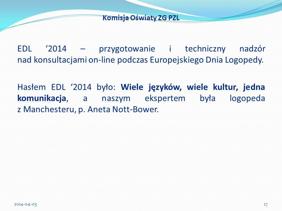 Komisja Oświaty ZG PZL