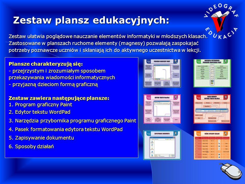 Zestaw plansz edukacyjnych: