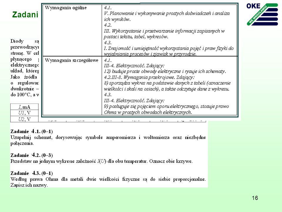 Zadanie - Arkusz z fizyki i astronomii poziom rozszerzony, maj 2011