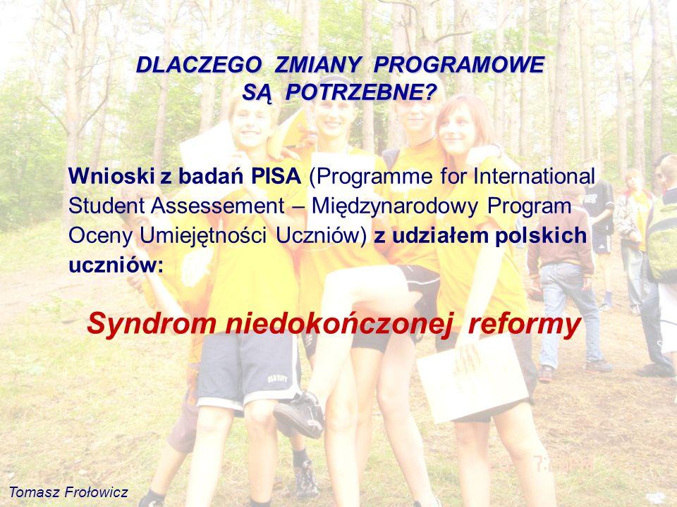 Syndrom niedokończonej reformy