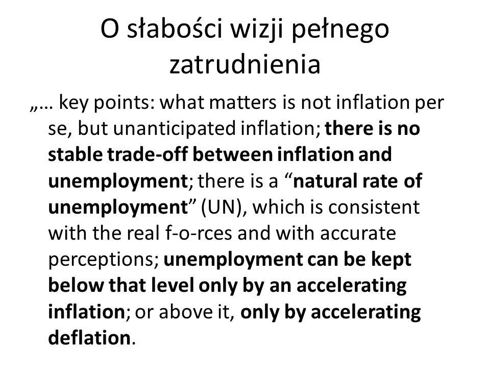 O słabości wizji pełnego zatrudnienia