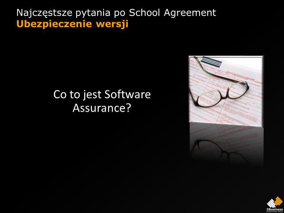 Najczęstsze pytania po School Agreement Ubezpieczenie wersji