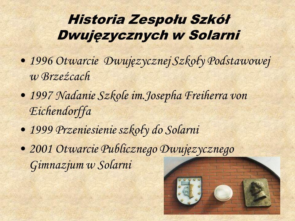 Historia Zespołu Szkół Dwujęzycznych w Solarni