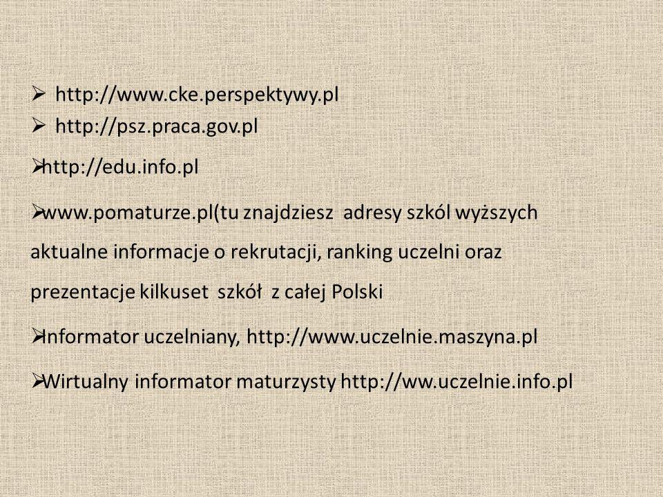 Informator uczelniany, http://www.uczelnie.maszyna.pl