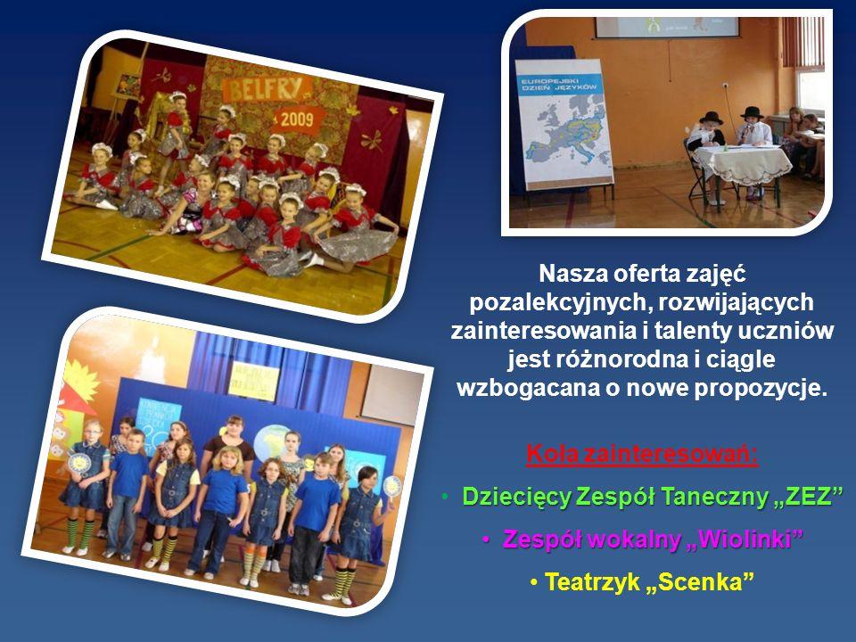 """Dziecięcy Zespół Taneczny """"ZEZ Zespół wokalny """"Wiolinki"""