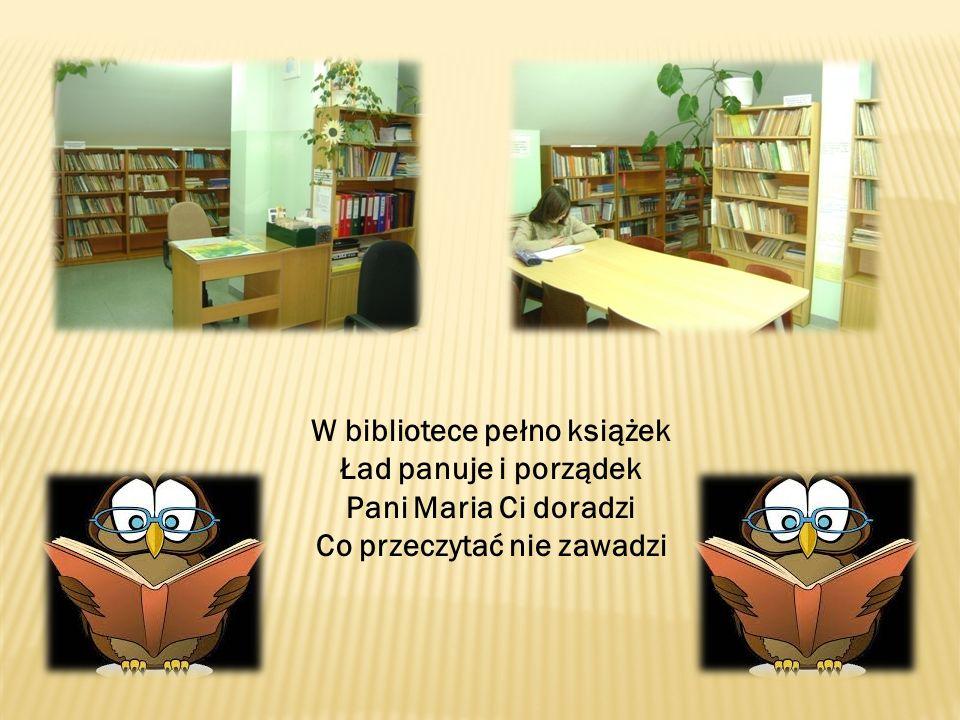 W bibliotece pełno książek Co przeczytać nie zawadzi