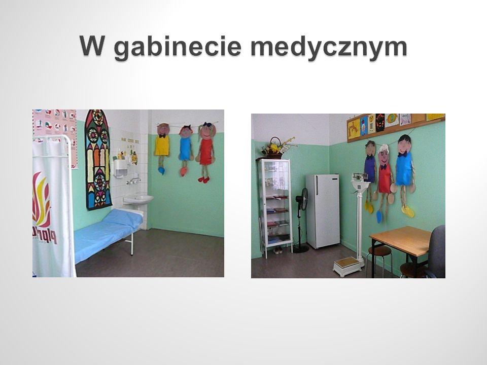 W gabinecie medycznym