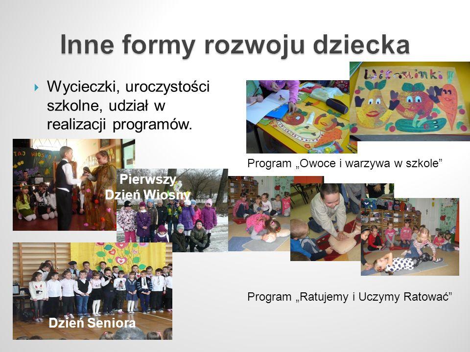 Inne formy rozwoju dziecka
