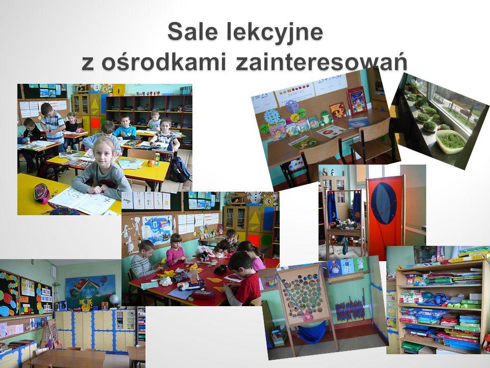Sale lekcyjne z ośrodkami zainteresowań