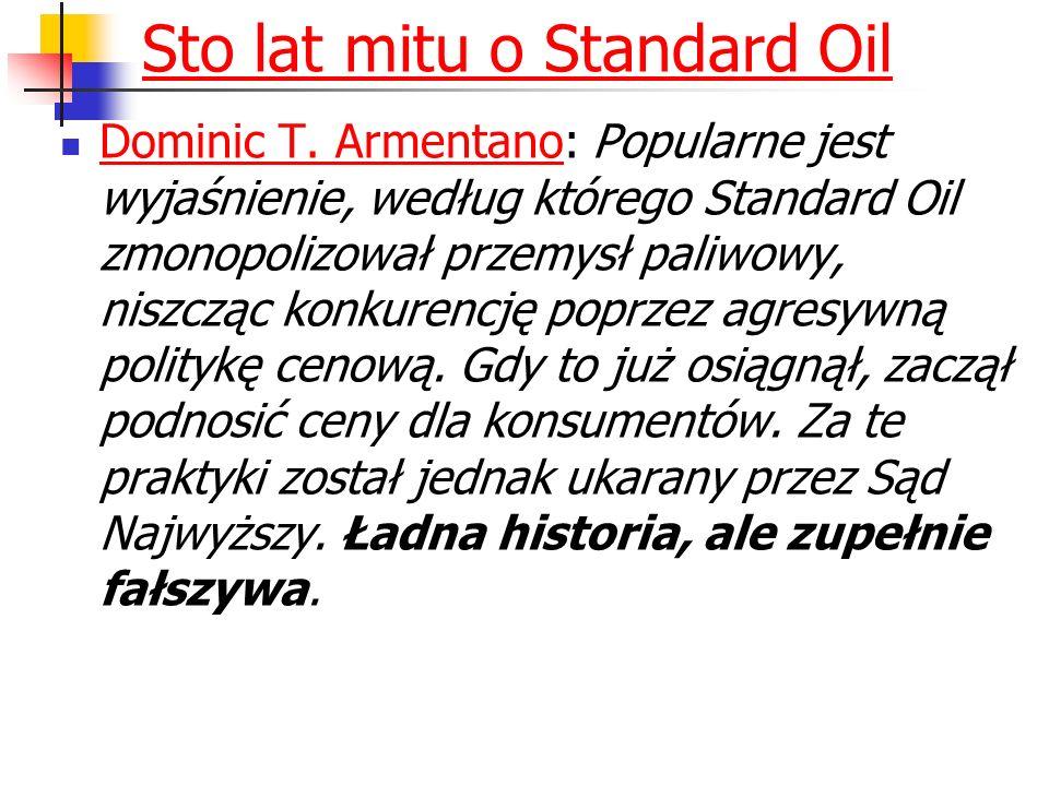 Sto lat mitu o Standard Oil