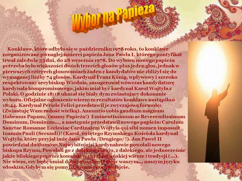 Wybor na Papieza