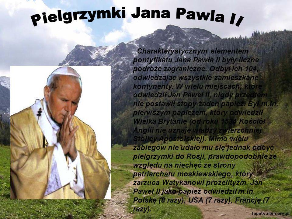 Pielgrzymki Jana Pawla II