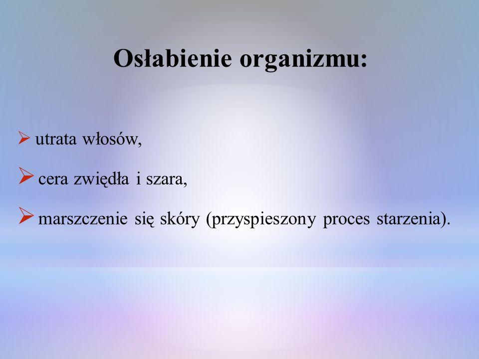Osłabienie organizmu: