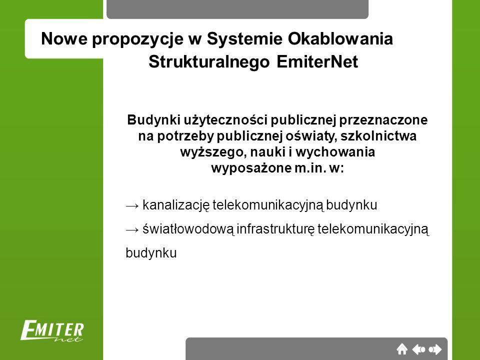 Nowe propozycje w Systemie Okablowania Strukturalnego EmiterNet