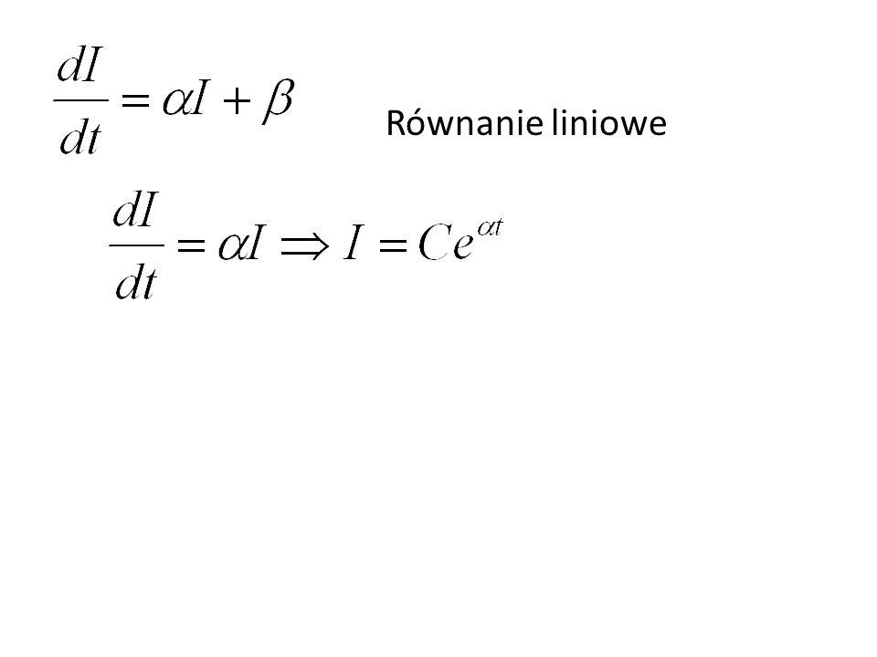 Równanie liniowe