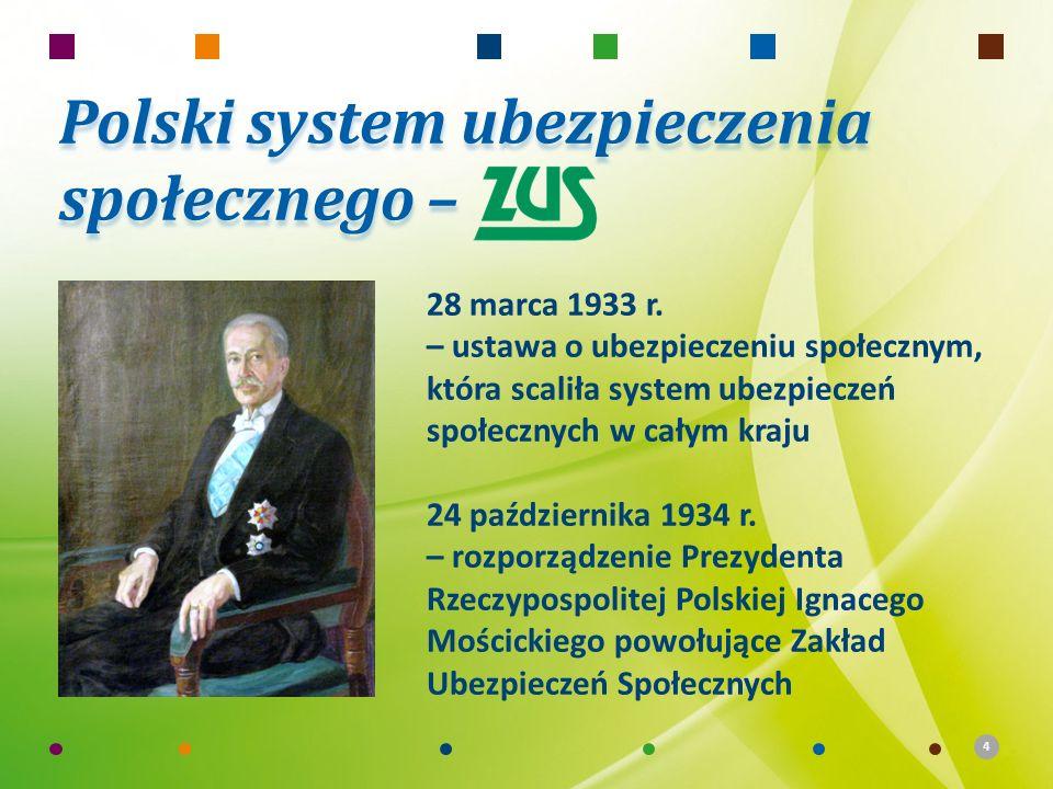 Polski system ubezpieczenia społecznego –
