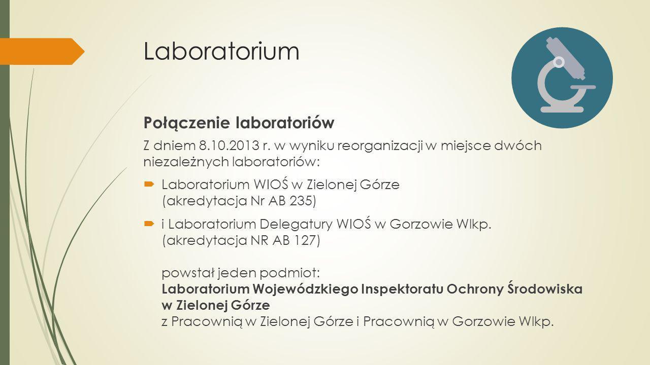 Laboratorium Połączenie laboratoriów