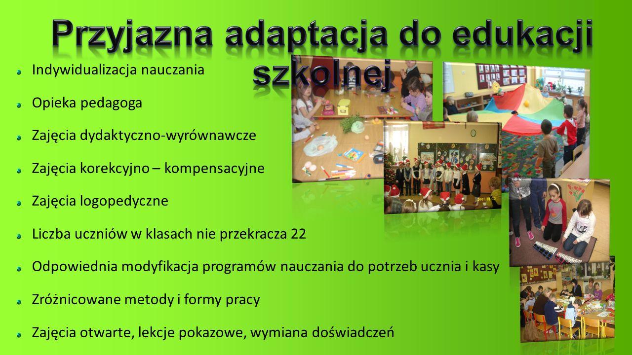 Przyjazna adaptacja do edukacji szkolnej