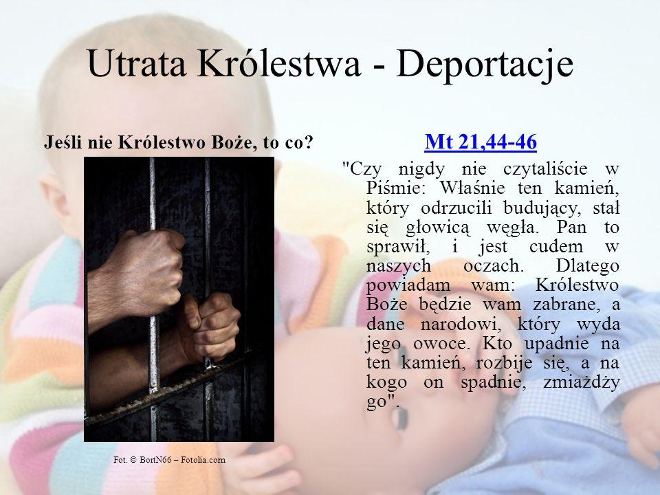 Utrata Królestwa - Deportacje