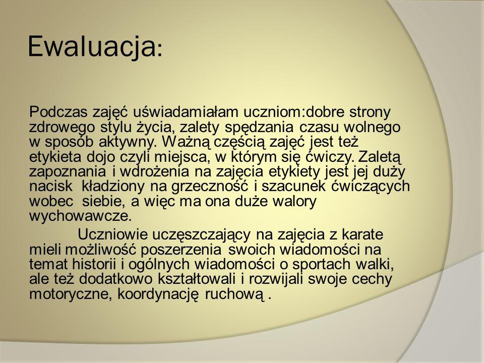 Ewaluacja: