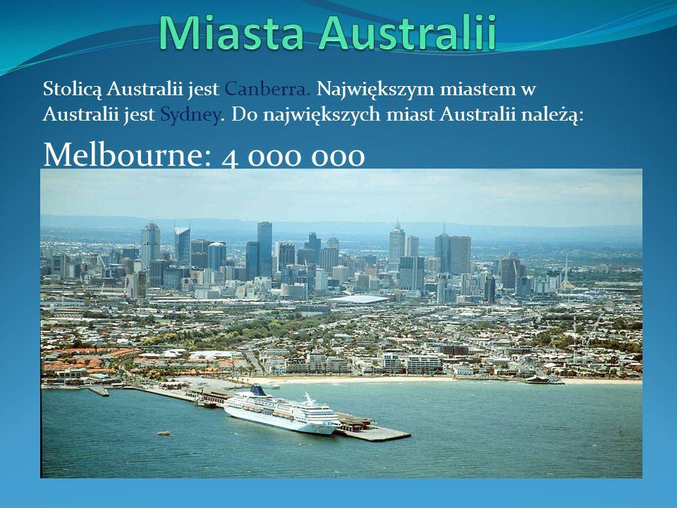 Miasta Australii Melbourne: 4 000 000