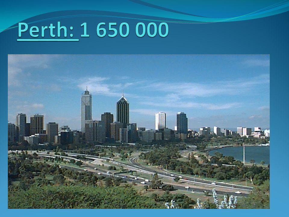 Perth: 1 650 000