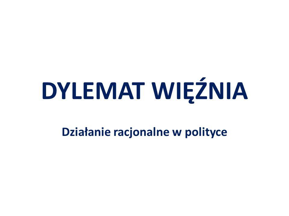 Działanie racjonalne w polityce