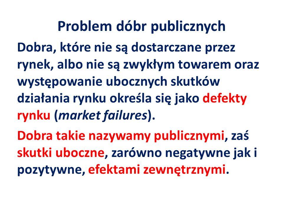 Problem dóbr publicznych