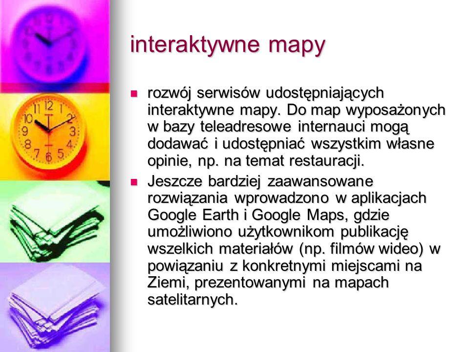 interaktywne mapy