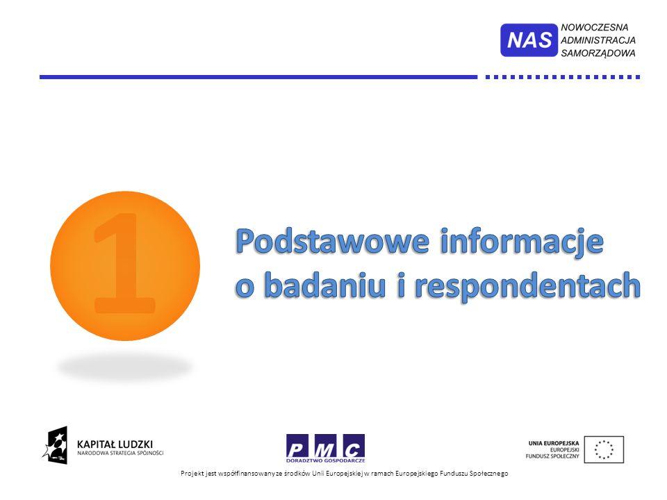 1 Podstawowe informacje o badaniu i respondentach