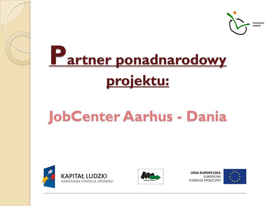 Partner ponadnarodowy projektu: JobCenter Aarhus - Dania