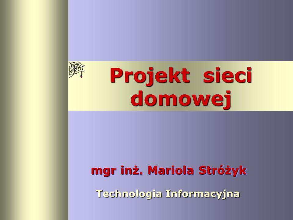 mgr inż. Mariola Stróżyk
