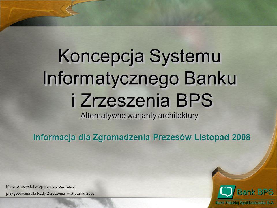 Informacja dla Zgromadzenia Prezesów Listopad 2008