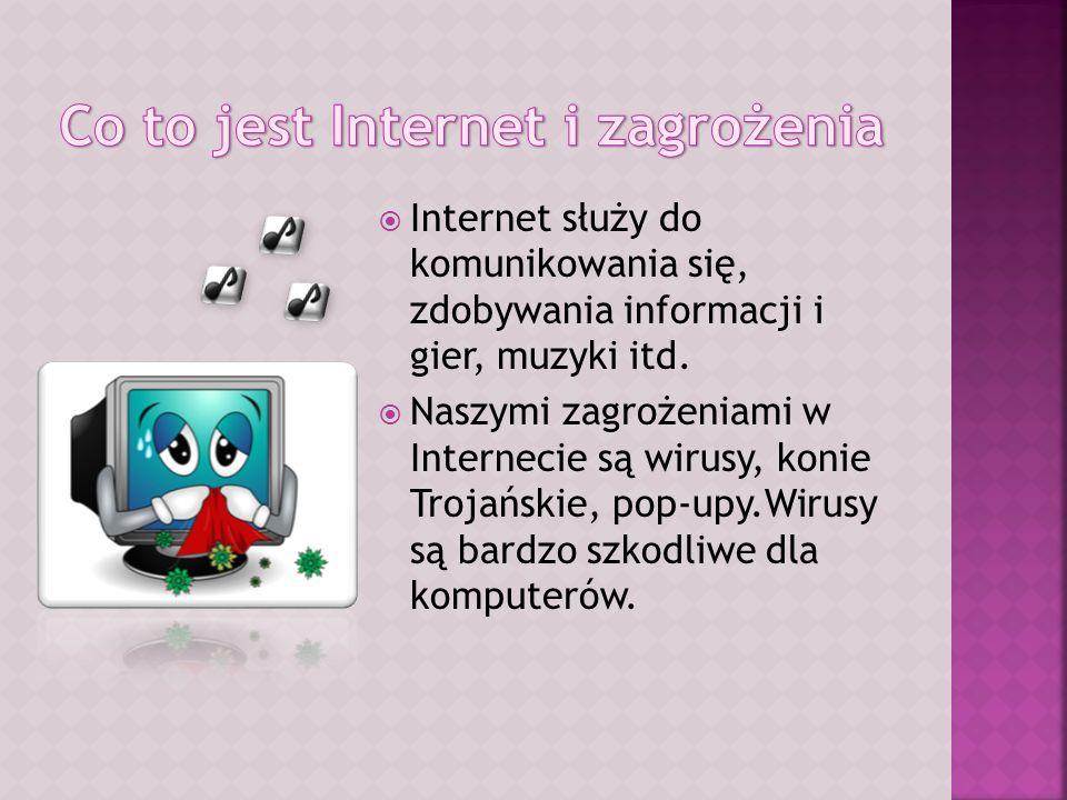 Co to jest Internet i zagrożenia