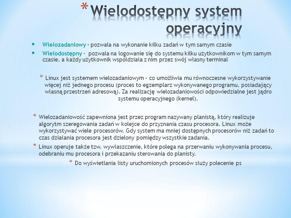 Wielodostępny system operacyjny